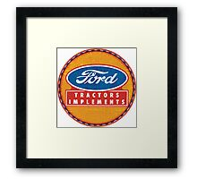 Ford Tractors and Equipment Framed Print