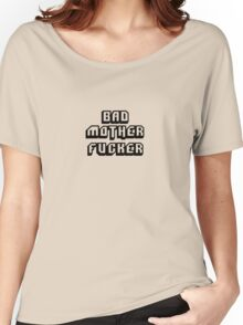Bad Motherfucker Leather - Pulp Fiction Women's Relaxed Fit T-Shirt