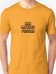 Bad Motherfucker Leather - Pulp Fiction Unisex T-Shirt