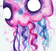 Jellyfish Watercolor Sticker