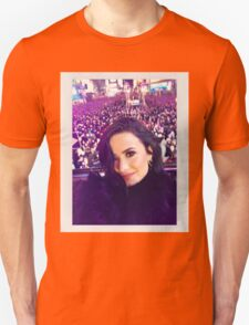 Demi's selfie at #RockinEve T-Shirt