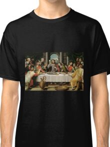 The Last Supper (Ultima Cena) by Joan de Joanes (c. 1562) Classic T-Shirt