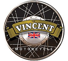 The Vincent Motorcycle England Photographic Print