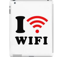 I love WIFI iPad Case/Skin