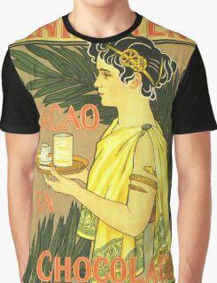 Vintage poster - Van Houten Cacao en Chocolade Graphic T-Shirt