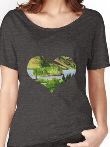 Loch Shiel from the Glenfinnan Viaduct Women's Relaxed Fit T-Shirt