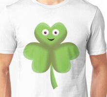 Clover Face Unisex T-Shirt