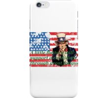 Vote 2016 - A little flattery will support a candidate through great fatigue. iPhone Case/Skin
