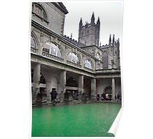 Georgian Spa in Bath, England Poster