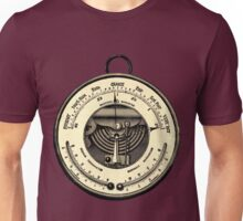 Barometer Vintage Tool Dictionary Art Unisex T-Shirt