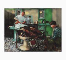 Barber - Shave - Pennepacker's barber shop 1942 Kids Clothes