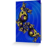 Gold Jewellery Gifts Greeting Card