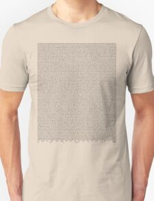 SILENT ALARM (black text) T-Shirt
