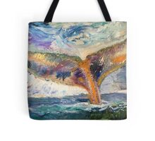 Whale Tail Colorful Tote Bag