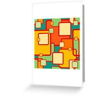 abstract geometrical seamless pattern Greeting Card