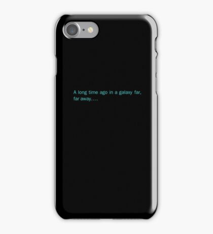 Galaxy Far Away iPhone Case/Skin