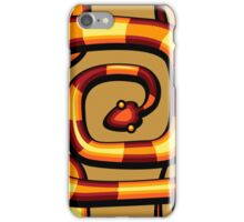 abstract serpent pattern iPhone Case/Skin