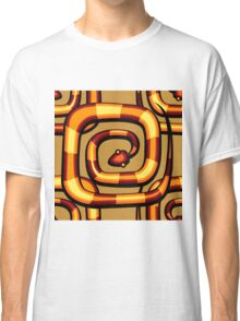 abstract serpent pattern Classic T-Shirt