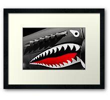 Shark Nose Art Framed Print