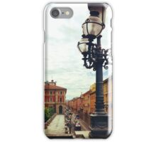 Bologna Street Lamp iPhone Case/Skin