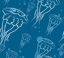 jellyfishes pattern by devaleta