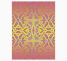 Fractal Art Stained Glass Kids Clothes
