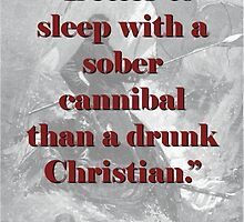 Better To Sleep With A Sober Cannibel - Melville by CrankyOldDude