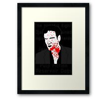 Tarantino - Shadow 3 Framed Print