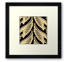 Wing Pattern Framed Print