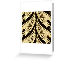 Wing Pattern Greeting Card