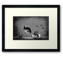 This can't hold my soul Framed Print