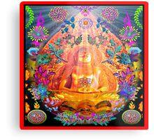 Buddhas Enlightened Blessings  Metal Print