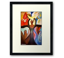 Sons of Nations Framed Print