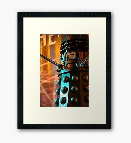 Exterminate! Framed Print