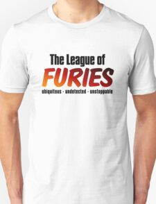 The League of Furies (black) T-Shirt
