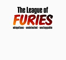 The League of Furies (black) Womens Fitted T-Shirt