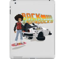 Back To The Boondocks iPad Case/Skin