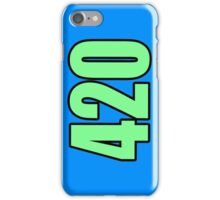 Weed Design #420 iPhone Case/Skin