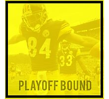 Steelers Playoff Bound Photographic Print