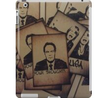 Max Keiser (Your Thoughts...) iPad Case/Skin