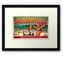 JACKSONVILLE FISHIN ASH VS EVIL DEAD Framed Print