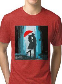 Passionate Parasol Pair Tri-blend T-Shirt