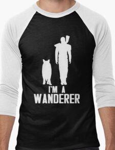 I'm A Wanderer (White) Men's Baseball ¾ T-Shirt