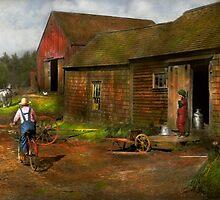 Farm - Life on the farm 1940s by Mike  Savad