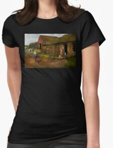 Farm - Life on the farm 1940s Womens Fitted T-Shirt
