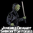 Juvenile Deviant Shinobi Tortoises by jomiha
