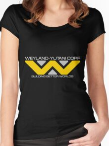 Weyland - Yutani Corporation Women's Fitted Scoop T-Shirt