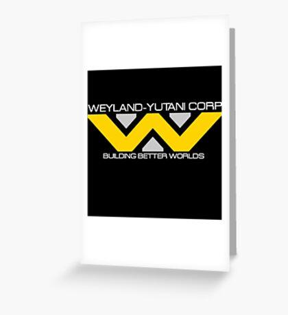 Weyland - Yutani Corporation Greeting Card
