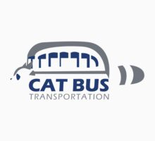 Catbus Transportation (White) by innergeekdesign