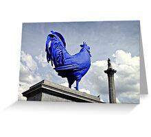 Katharina Fritsch's Hahn/Cock, London Greeting Card